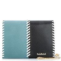 Двухцветная сумка Baldinini Elisa на цепочке, фото