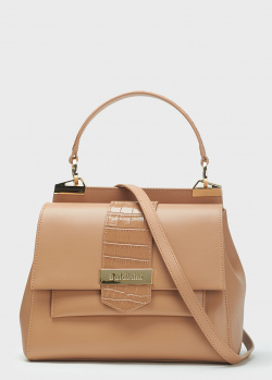Женская сумка Baldinini Lea бежевого цвета, фото