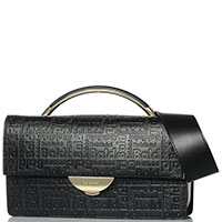 Женская сумка Baldinini Greta с фирменным тиснением, фото