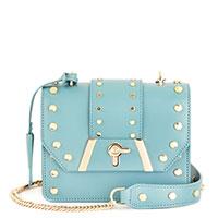 Голубая сумка Baldinini Dorothy на цепочке, фото