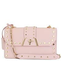Розовая сумка Baldinini Dorothy прямоугольной формы, фото