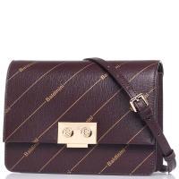 Женская сумка Baldinini Lizzie из бордовой кожи, фото