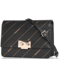 Черная сумка Baldinini Lizzie с принтом, фото