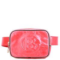 Поясная сумка Baldinini Ellen с эффектом мятой кожи, фото
