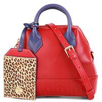 Маленькая сумка Baldinini Ingrid со съемным брелоком, фото
