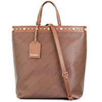 Большая сумка-тоут Baldinini Kara с металлическим декором, фото