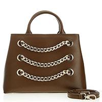 Коричневая сумка Baldinini Suzanne со съемным ремнем, фото