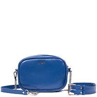 Синяя сумка Amo Accessori AMOOFashion со съемными ремнями, фото