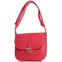 Женская сумка красного цвета Patrizia Pepe из зернистой кожи, фото
