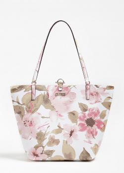 Двухсторонняя сумка Guess Alby из экокожи, фото