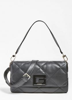 Черная сумка Guess Brightside с логотипом, фото