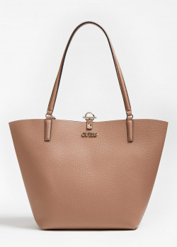 Двухцветная сумка Guess Alby с косметичкой, фото