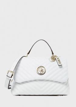 Белая сумка Guess Blakely из экокожи, фото