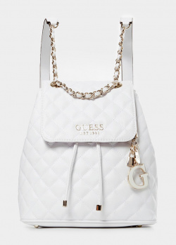 Стеганый рюкзак Guess Melise из экокожи, фото