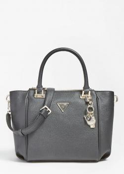 Черная сумка-сэтчел Guess Destiny из экокожи, фото