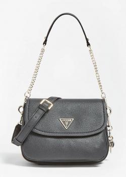 Черная сумка Guess Destiny со съемным ремнем, фото