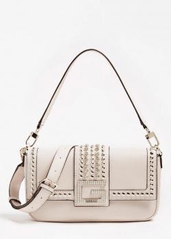Белая сумка кросс-боди Guess Bling со съемным ремнем, фото