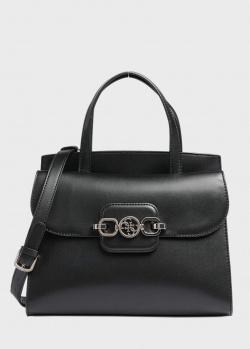 Сумка-портфель Guess Hensely черного цвета, фото
