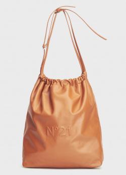 Сумка-мешок N21 Eva Hobo из натуральной кожи, фото