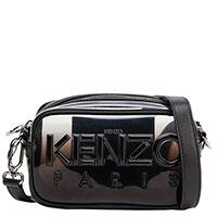 Прозрачная сумка Kenzo черного цвета, фото