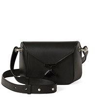 Черная сумка Kenzo с декором-буквой, фото