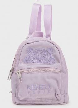 Маленький рюкзак Kenzo сиреневого цвета, фото