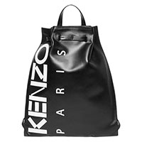 Рюкзак Kenzo из кожи черного цвета, фото