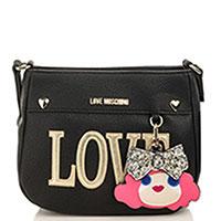 Маленькая сумка Love Moschino с металлическим декором, фото