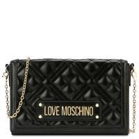 Сумка кросс-боди Love Moschino черная, фото