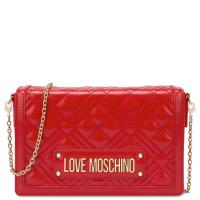 Женская сумка Love Moschino красного цвета, фото