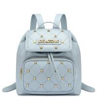 Рюкзак Love Moschino голубого цвета, фото