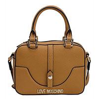 Женская сумка Love Moschino в коричневом цвете, фото
