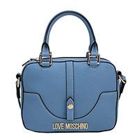 Сумка кросс-боди Love Moschino голубая, фото