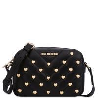 Женская сумка Love Moschino в черном цвете, фото