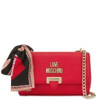 Сумка Love Moschino с декором в виде платка, фото