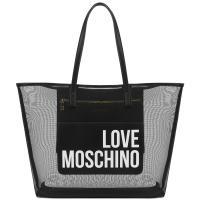 Сумка-шоппер Love Moschino черного цвета, фото