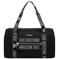 Сумка Love Moschino черного цвета с декором, фото