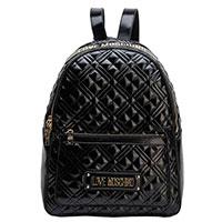 Женский рюкзак Love Moschino черного цвета, фото