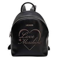 Рюкзак Love Moschino в черном цвете, фото