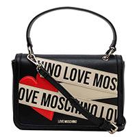 Сумка-портфель Love Moschino черного цвета, фото