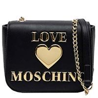 Сумка флеп-бег Love Moschino на цепочке, фото