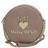 Круглая сумка Love Moschino розового цвета, фото