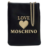 Клатч Love Moschino черный на цепочке, фото