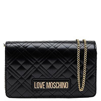 Сумка Love Moschino черная на цепочке, фото