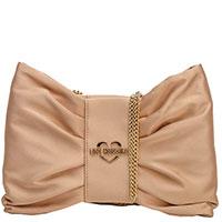 Женская вечерняя сумка-клатч Love Moschino, фото
