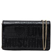 Женская сумка Love Moschino с принтом кожи крокодила, фото