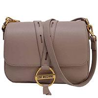 Прямоугольная сумка Love Moschino с двумя ремнями, фото