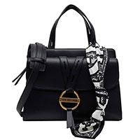 Женская сумка Love Moschino с украшением в виде платка, фото