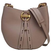 Женская сумка Love Moschino бледно-лилового цвета, фото