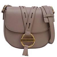 Женская сумка Love Moschino с золотой пряжкой, фото